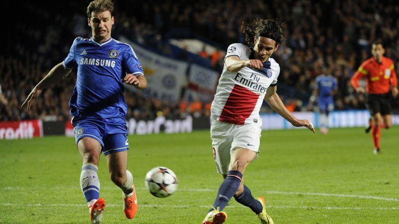 Match en quart de finale de la Ligue des champions UEFA 2013/2014, le 8 avril à Londres.