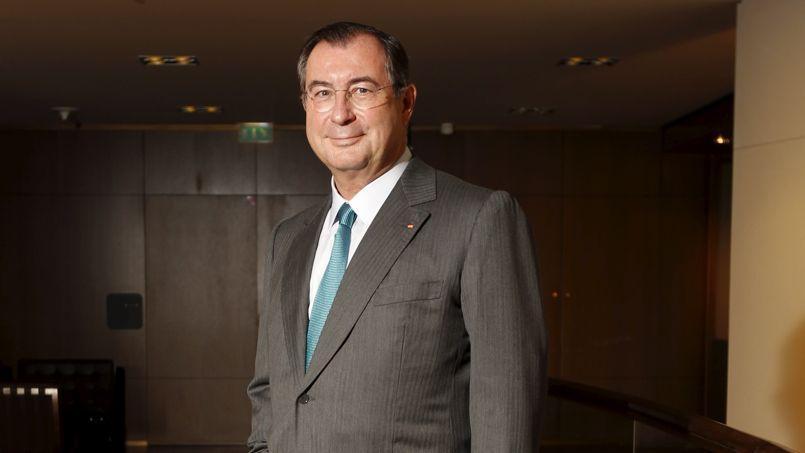 Martin Bouygues, le PDG de Bouygues.
