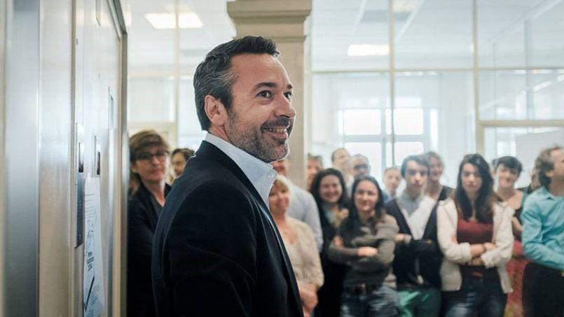 Matthieu Croissandeau a été élu directeur de la rédaction du Nouvel Observateur . Crédit photo: Vincent Migeat /agence vu