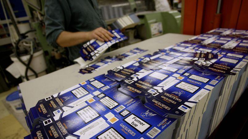 Située à Carquefou, l'usine a produit l'an passé 12,2milliards de cigarettes blondes.