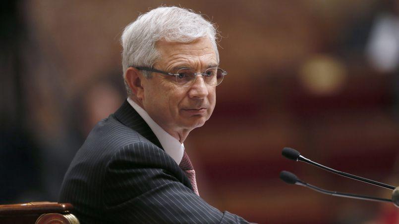 Claude Bartolone, président de l'Assemblée nationale.