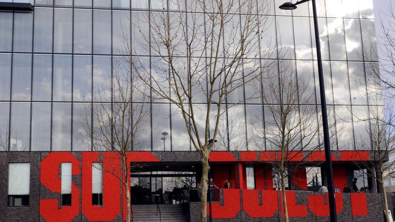 Le bâtiment du quotidien régional Sud-Ouest, à Bordeaux
