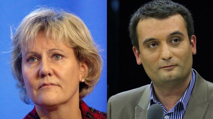 Avec 26% des intentions de vote, la liste FN conduite par Florian Philippot arrive en tête devant celle de l'UMP Nadine Morano, créditée de 24% des voix.