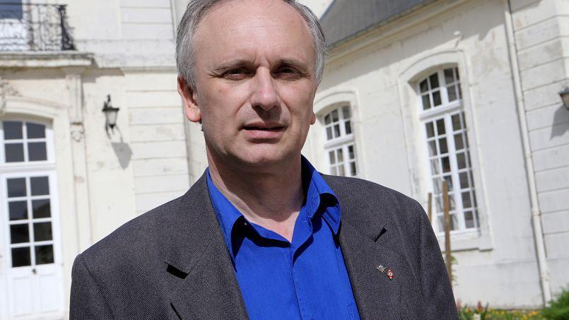 Franck Briffaut, nouveau maire FN de Villers-Cotterêts, dans l'Aisne.