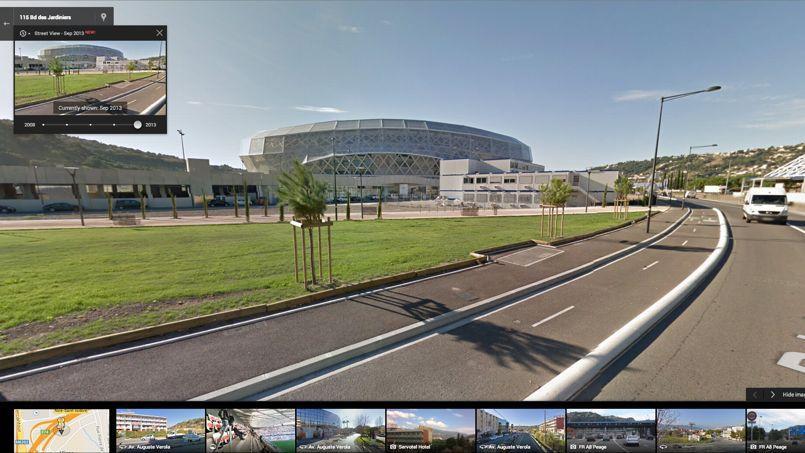 L'Allianz Riviera de Nice.