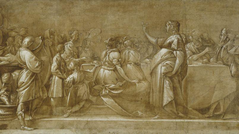 Cette œuvre d'il Morazzone (Pier Francesco Mazzuchelli) date d'environ 1623 et fait partie des près de 80.000 images ajoutées à la plate-forme de téléchargement libre de droits.
