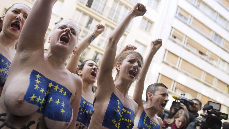 Les Femen, meilleures ennemies du féminisme