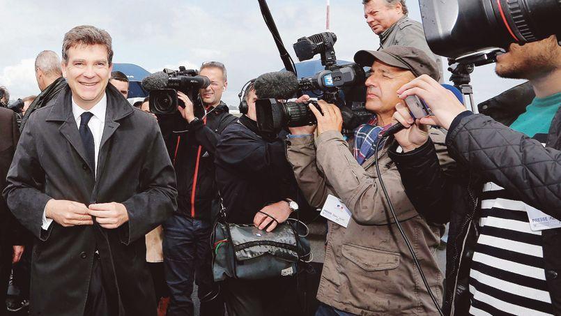 Arnaud Montebourg, le ministre de l'Économie.