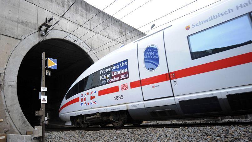 Siemens a notamment construit l'Eurostar.
