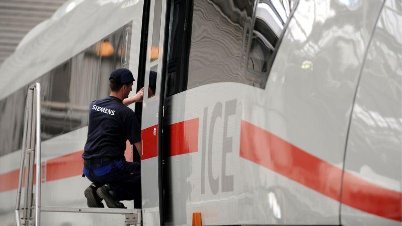 Siemens céderait son train à grande vitesse ICE à Alstom.