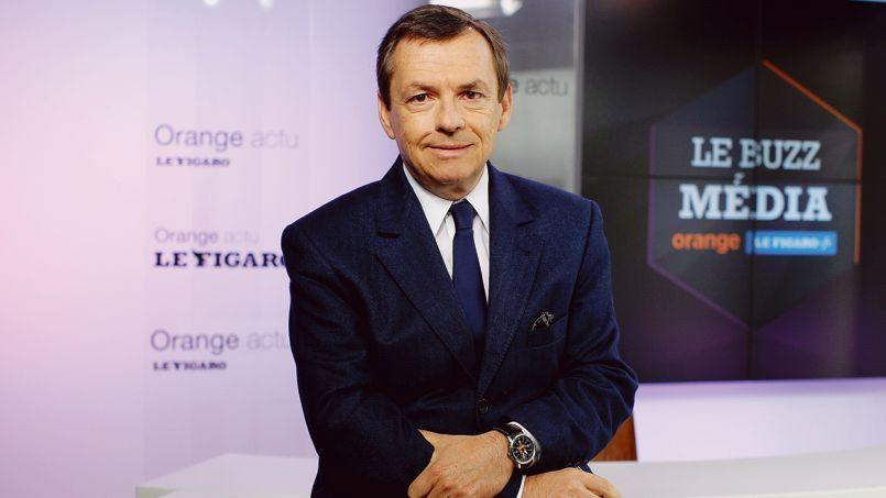 Alain Weill, dans les locaux du Figaro.