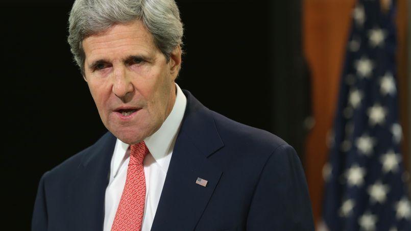 «Je ne permettrai pas que mon engagement pour Israël soit discuté par quiconque», se défend le secrétaire d'État américain, John Kerry.