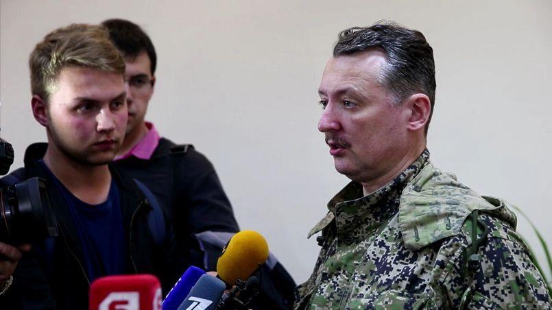 Le 15e et dernier de la liste de l'UE est celui d'Igor Strelkov «identifié comme membre de la direction générale des forces armées de la Fédération de Russie (GRU)» et précisément «impliqué dans des incidents à Sloviansk».