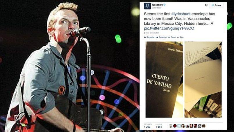 Coldplay a dissimulé dans des livres, les paroles de son dernier album Ghost Stories. Une énorme chasse au trésor vient d'être lancée dans le monde entier.