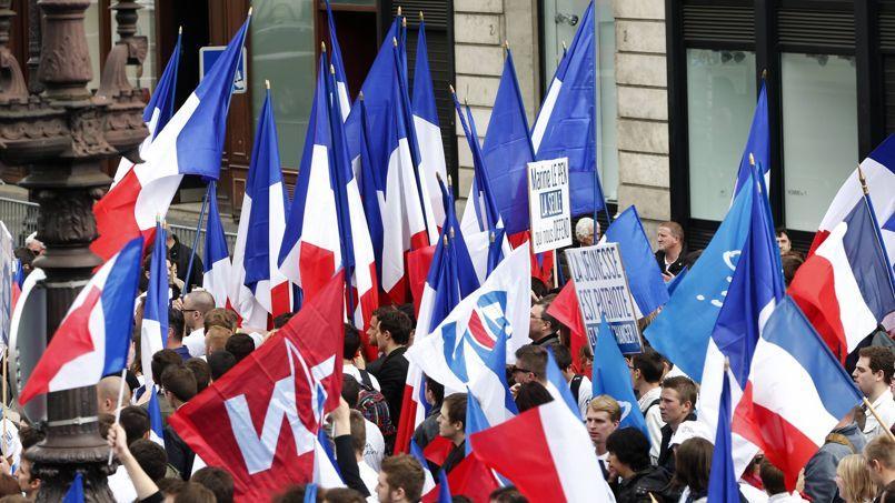 Le défilé du Front national.