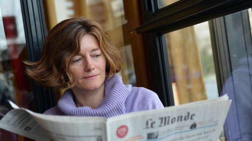 Natalie Nougayrède, directrice du journal Le Monde.
