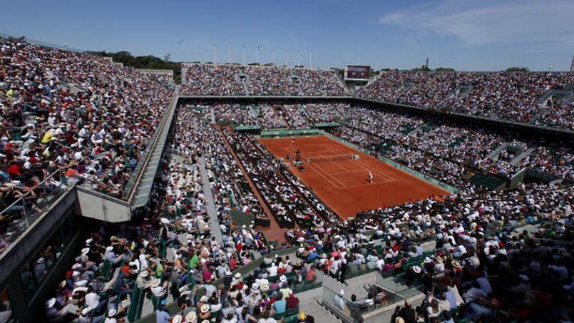 Roland-Garros constitue presque un point de départ pour GDF Suez: c'est la première fois que le groupe intègre le rang des «top sponsors» d'un tournoi du Grand Chelem. Crédit: François Bouchon/Le Figaro