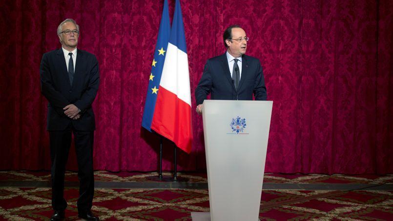 François Rebsamen et François Hollande