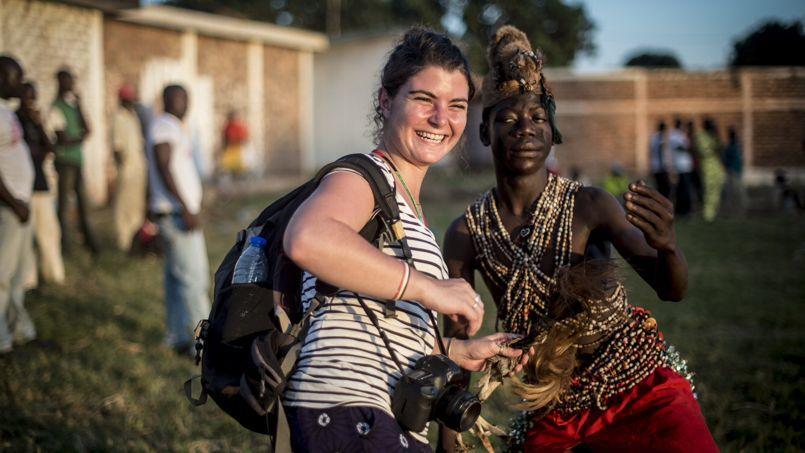 En octobre 2013, à Bangui.
