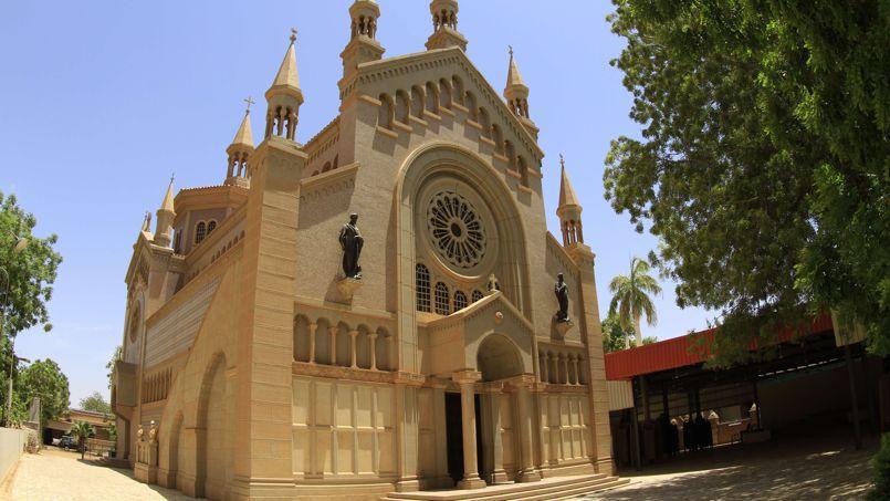 L'église St. Matthew, près de la capitale soudanaise, Khartoum.
