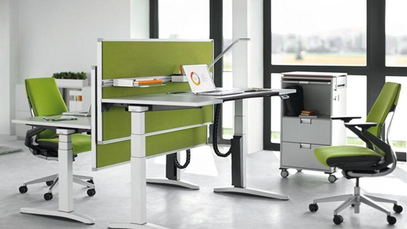 steelcase invente un bureau soucieux de la sant des salari s. Black Bedroom Furniture Sets. Home Design Ideas