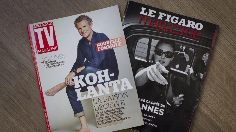 Les suppléments TV Magazine et Le Figaro Magazine.