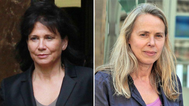 Anne Sinclair (à gauche) a choisi de jeter l'éponge du CA et Anne Baldassari (à droite) parle de son éviction.