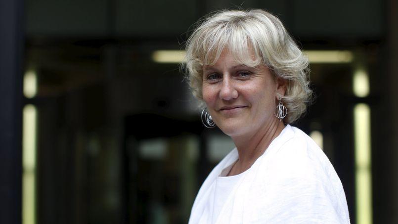 Nadine Morano, tête de liste UMP dans la région grand-est.