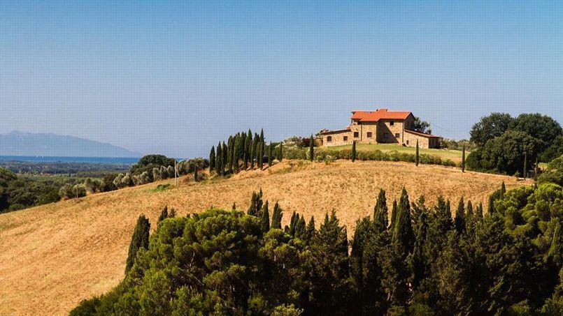En Toscane, le site propose actuellement 4.500 hébergements de vacances. (Crédit: Hassan Kardous.)