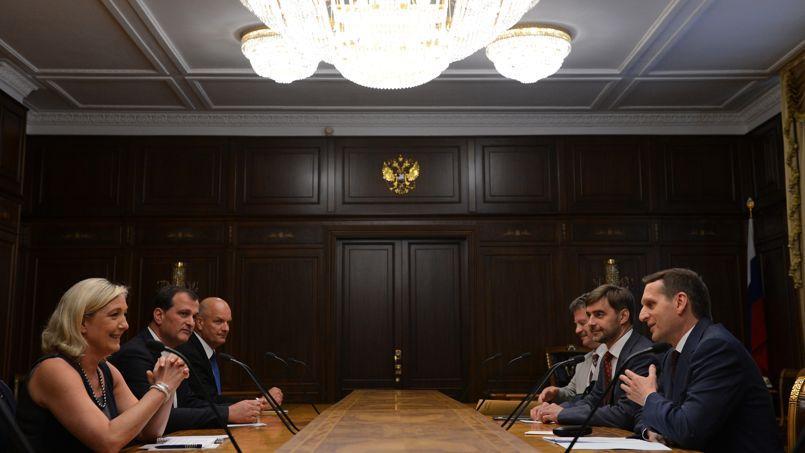 En 2013, Marine Le Pen s'était rendue à Moscou pour rencontrer des responsables russes.