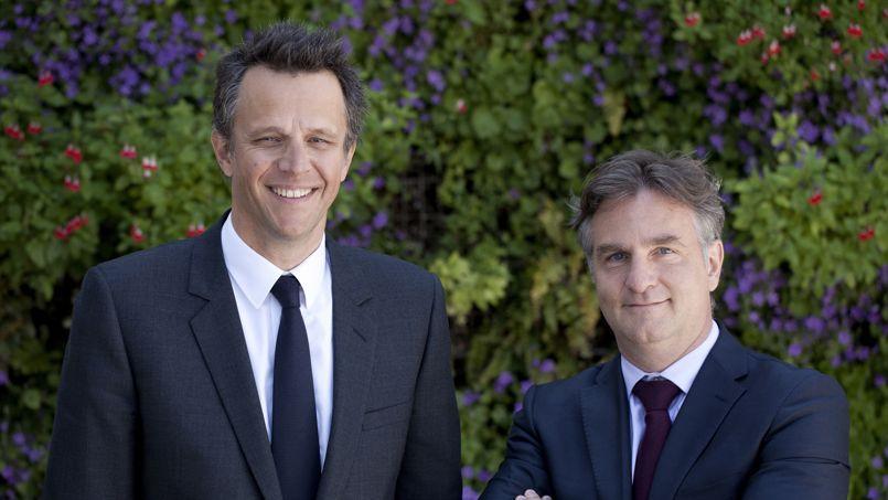 Axel Dauchez ( à droite) est nommé à la tête de Publicis Worlwide France.