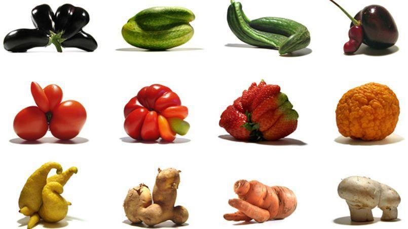 30% de la production totale de nourriture est jetée chaque année. ©Les gueules cassées