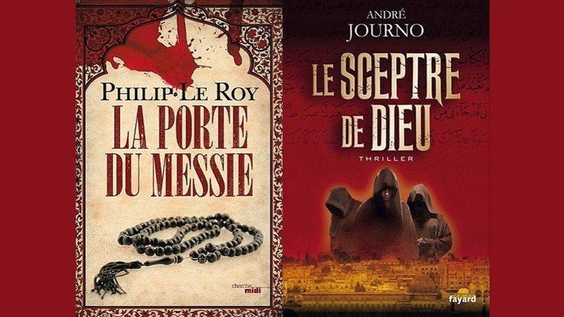 Les couvertures des ouvrages de Philip Le Roy et d'André Journo.