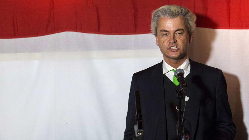 Geert Wilders, jeudi soir.