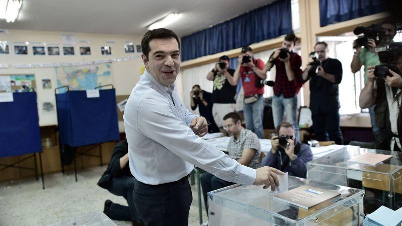 Alexis Tsipras, le dirigeant du Syriza.