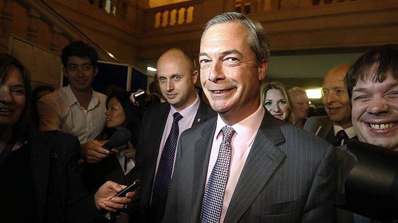 Nigel Farage, leader de l'United Kingdom Independence Party.