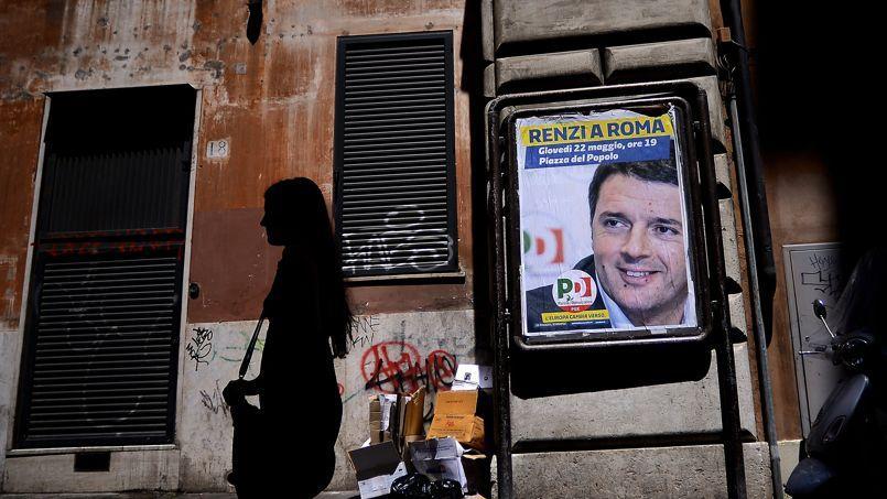 Matteo Renzi a conduit une campagne passionnée en faveur de l'Europe.