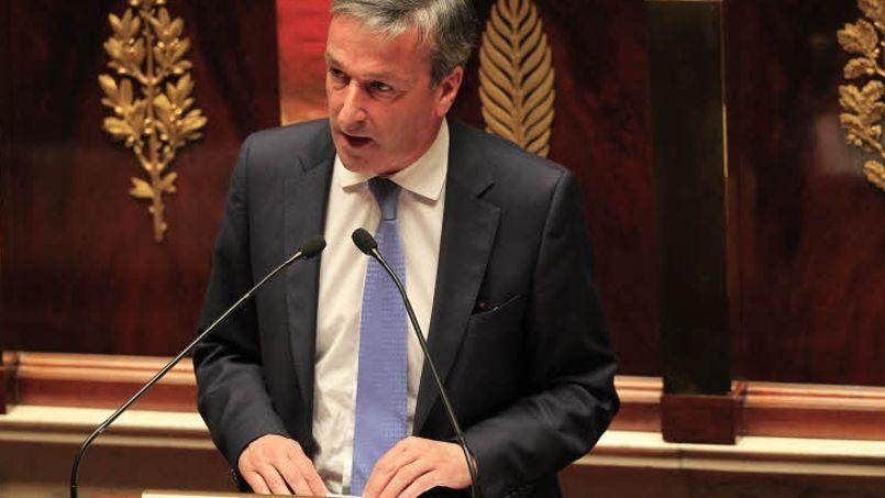 Le président du groupe UDI à l'Assemblée nationale, Philippe Vigier. Photo: Sébastien SORIANO / Le Figaro