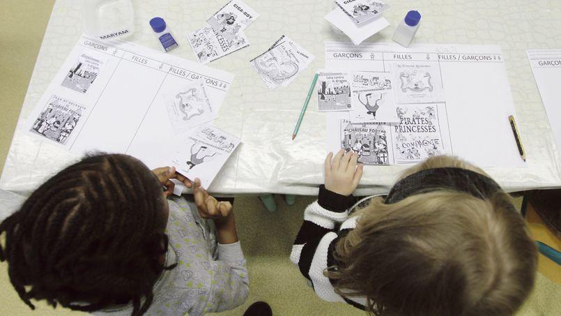 L'ABCD de l'égalité expérimenté dans une classe de moyenne section d'une maternelle de Neuilly-Plaisance, en Seine-Saint-Denis, en janvier dernier.