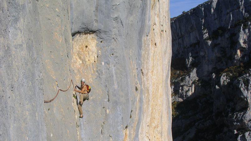 Le grand canyon du Verdon, un site incontournable pour ceux qui désirent grimper dans un cadre unique au monde. (©Laurent Vivien-Raguet)