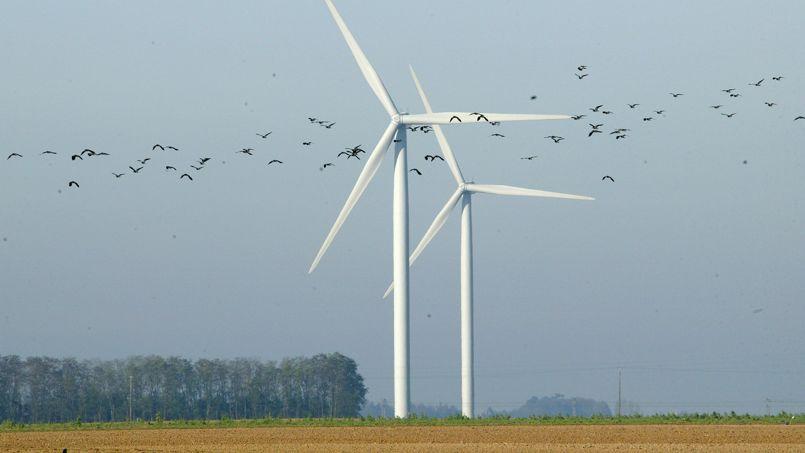 Des éoliennes dans la Beauce (photo d'illustration).