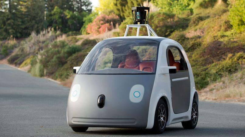 La «Google Car» sera autonome, mais pas très rapide: elle ne dépasse pas les 40 km/h.