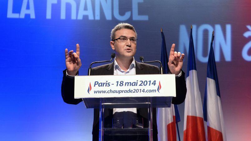Aymeric Chauprade, député européen du Front national