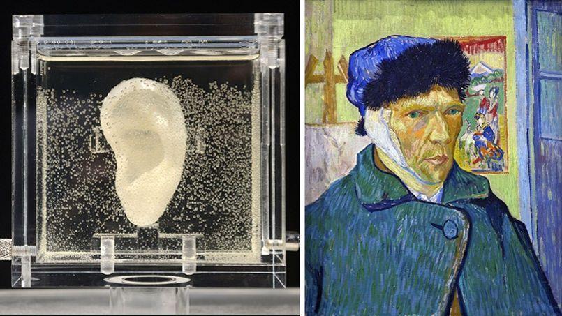 L 39 oreille coup e de van gogh expos e en allemagne - Vincent van gogh autoportrait a l oreille coupee ...