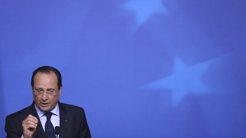 François Hollande à Bruxelles le 27 mai 2014.