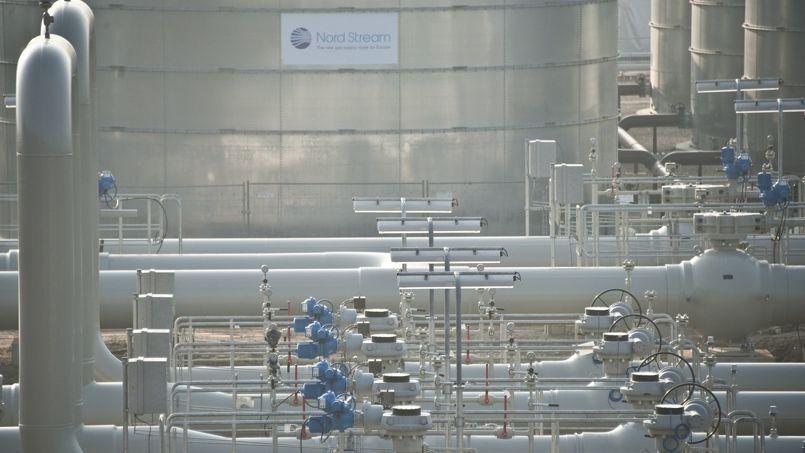 L'Allemagne dépend à 35% des importations russes, pour ses besoins en gaz. Ici le terminal de Lubmin où arrive le gaz directement en provenance de Saint-Pétersbourg via le gazoduc Nord Stream. Photo AFP