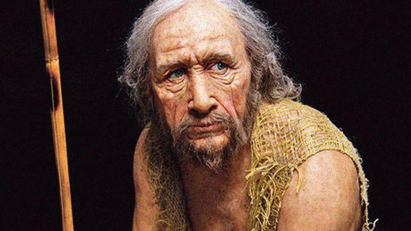 Une reconstitution historique met en scène une famille de l'époque ... Neanderthal 1