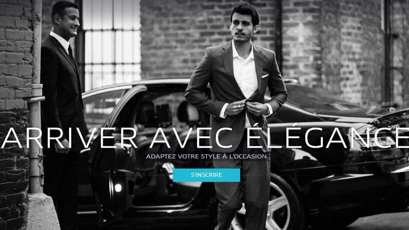 La page d'accueil du site d'Uber en France.