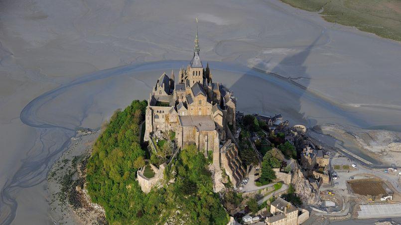 Le pont du mont saint michel est enfin pr t - Travaux mont saint michel ...