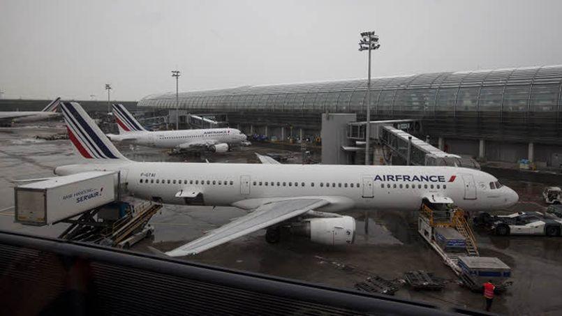 Le trafic aérien a été perturbé par une grève au sein d'Air France dimanche dernier (Crédit: François BOUCHON / LE FIGARO)